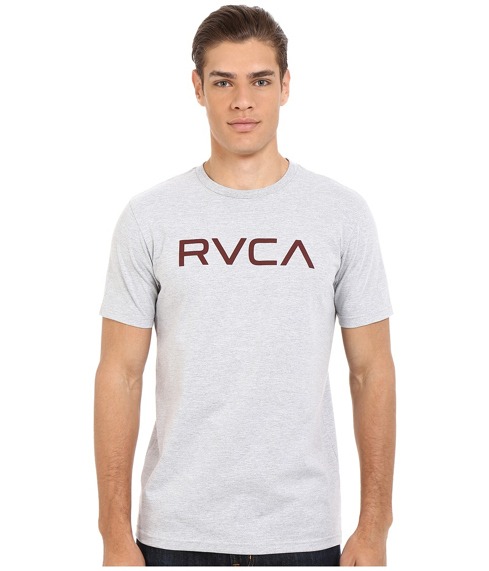 RVCA - Big RVCA Tee (Athletic Heather) Men