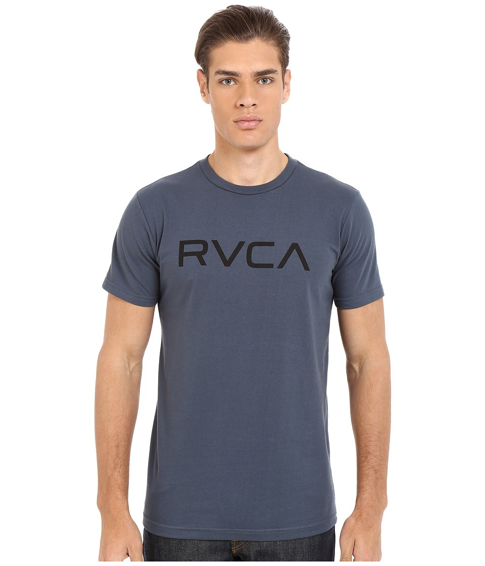 RVCA - Big RVCA Tee (Midnight) Men