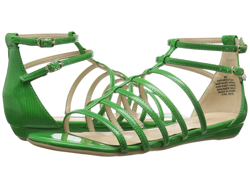 Nine West Aboutthat (Green Synthetic) Women