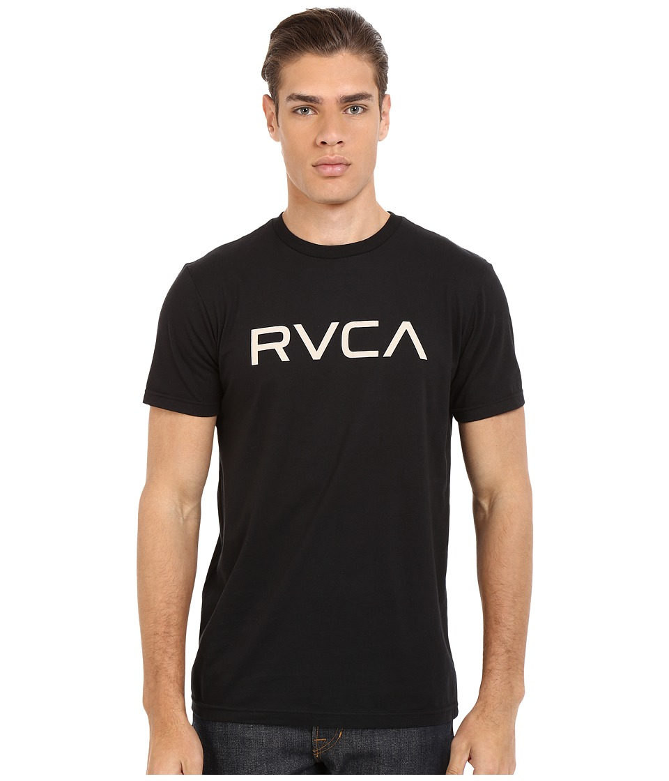 RVCA - Big RVCA Tee (Black) Men