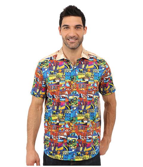 Robert Graham Route 66 Short Sleeve Shirt