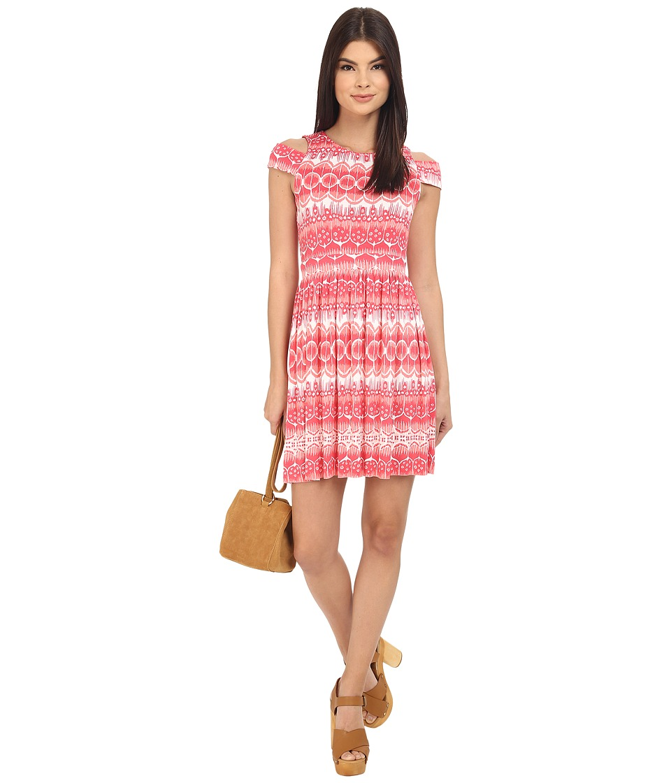 Clayton Devon Dress Coral Dream Womens Dress