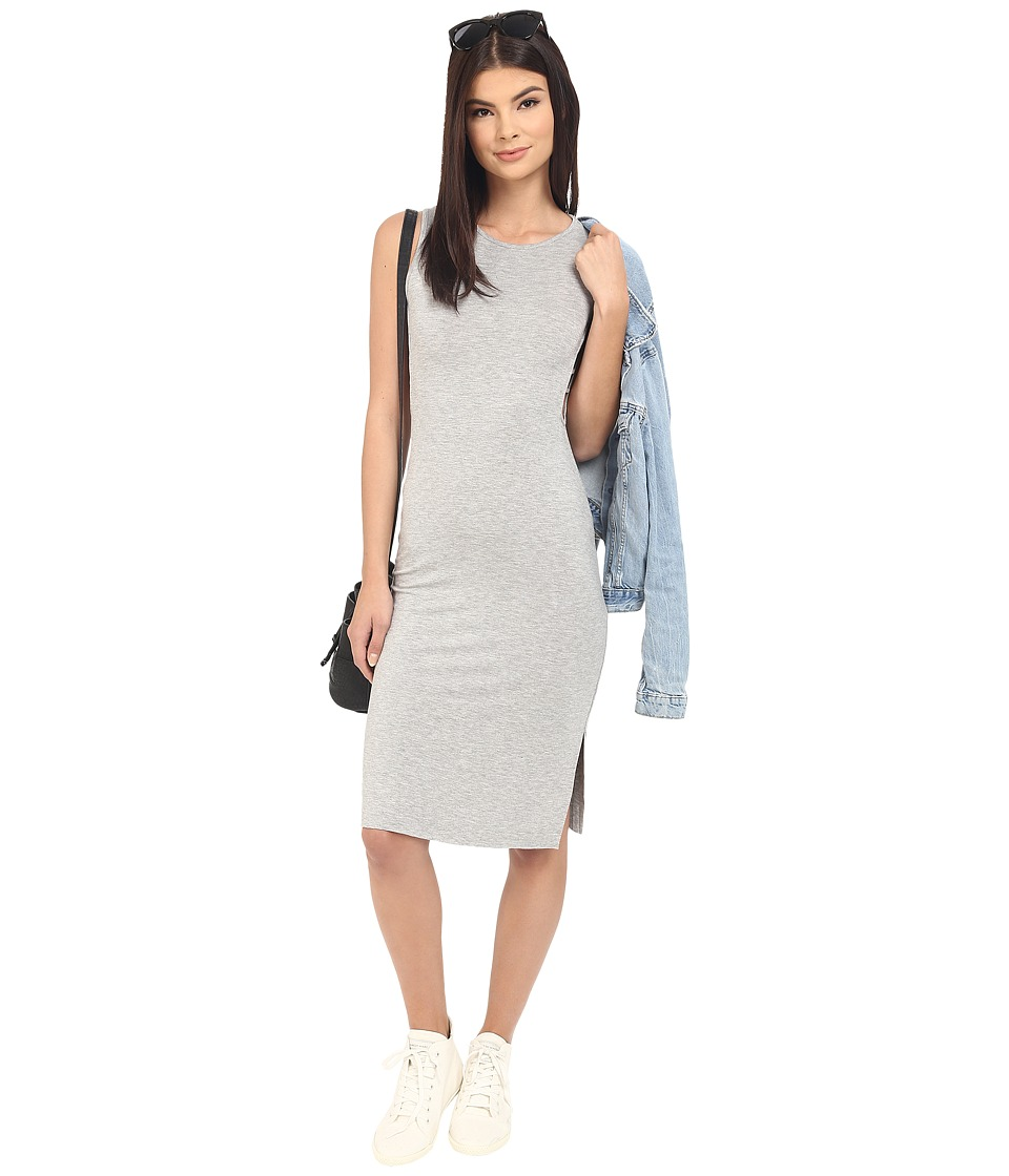 Clayton Junya Dress Heather Grey Womens Dress