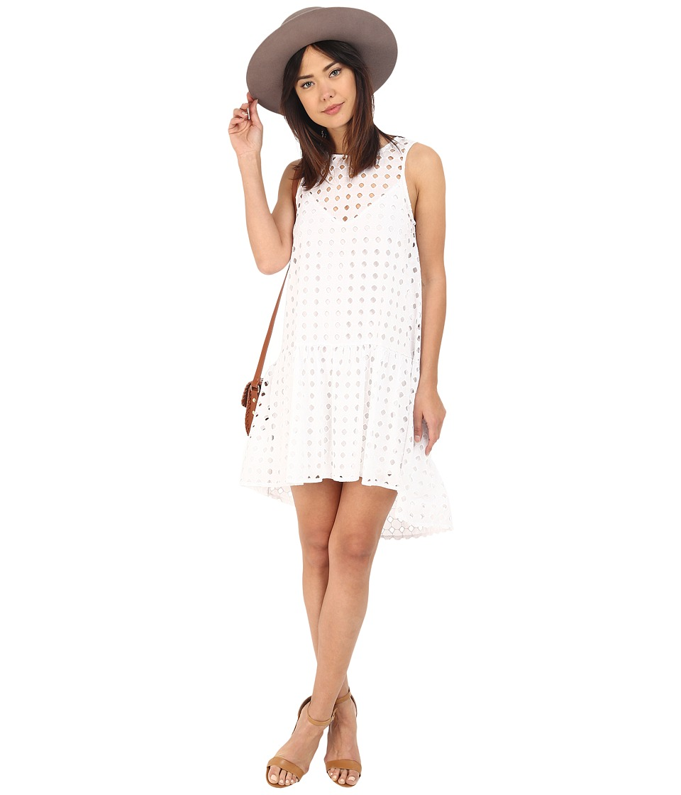 Clayton Finn Eyelet Dress Eyelet White Womens Dress