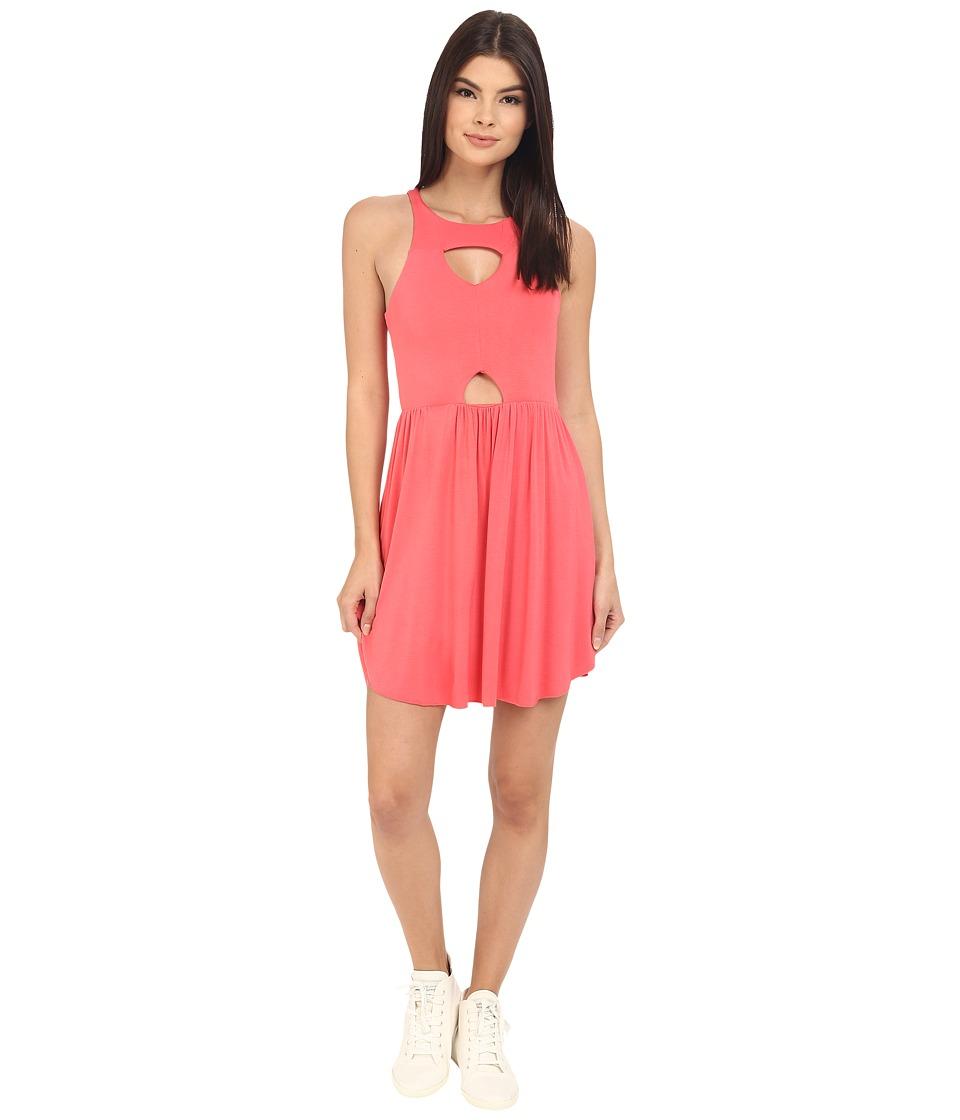 Clayton Maxwell Dress Coral Womens Dress