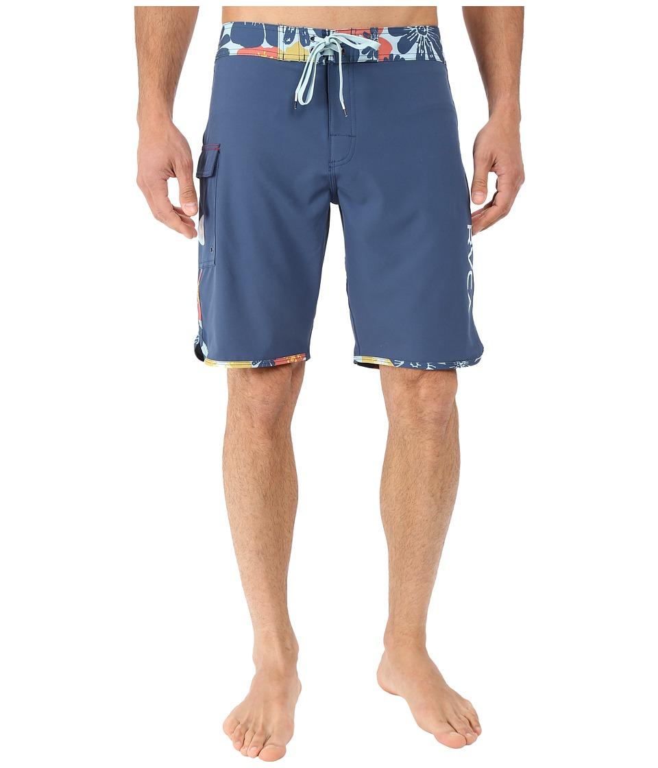 RVCA Eastern 20 Trunks Dark Denim Mens Swimwear