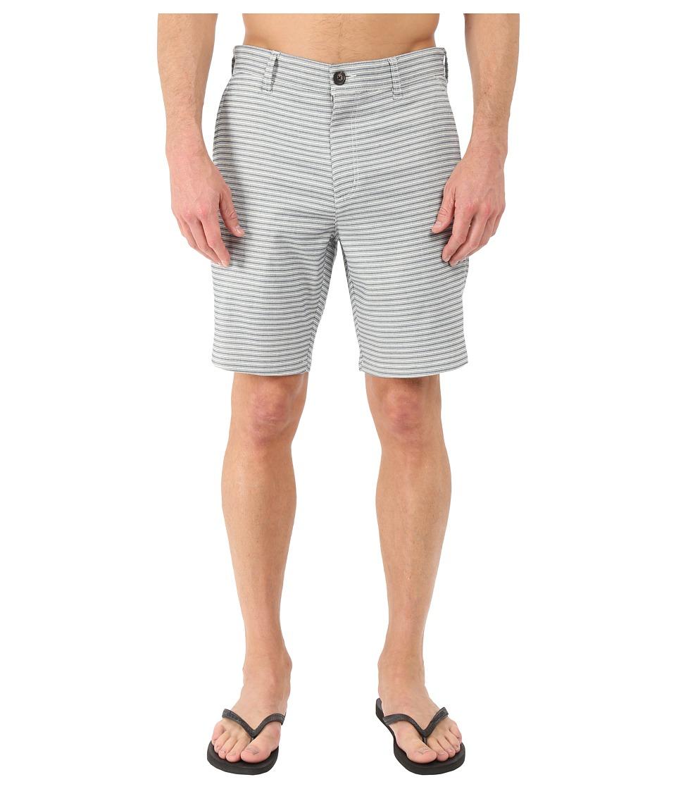 RVCA Feelz Walkshorts Silver Beach Mens Shorts