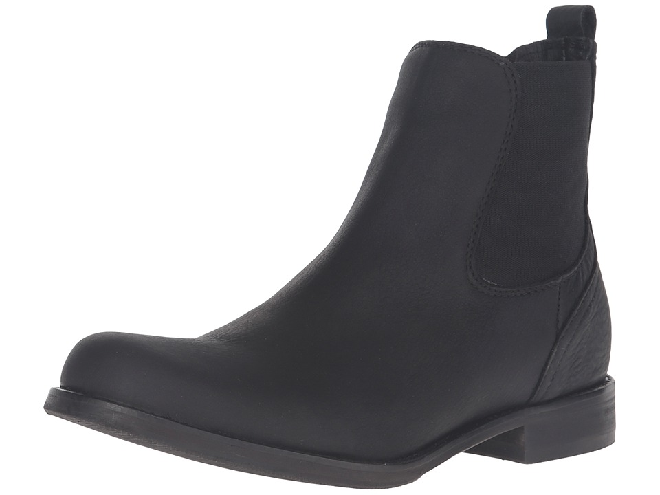 Wolverine Alec 6 Waterproof Boot (Black Leather) Men