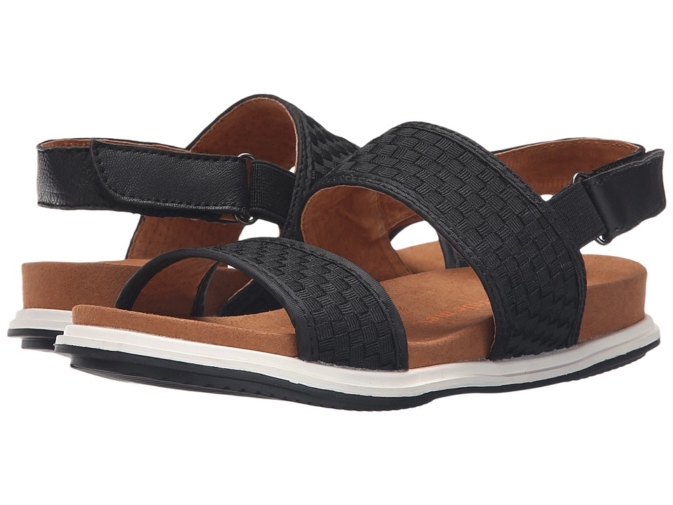 bernie mev. Atlantis Black Womens Sandals