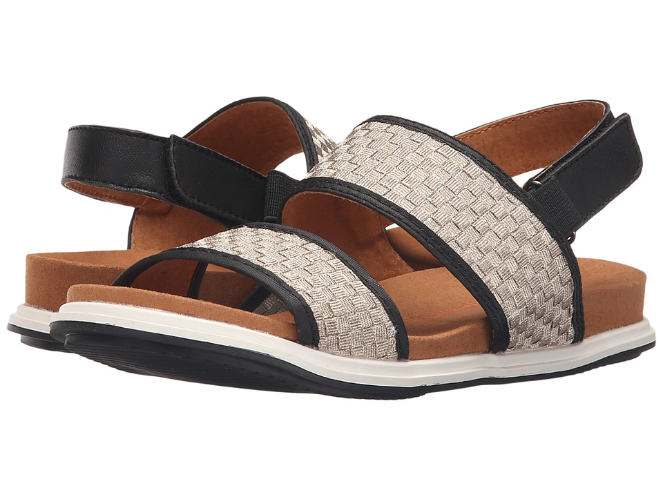 bernie mev. Atlantis Light Gold Womens Sandals