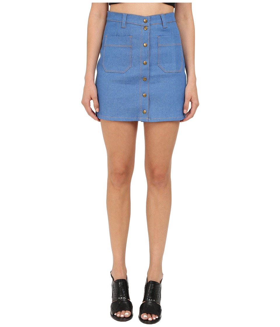 Clayton Krystal Skirt Denim Womens Skirt
