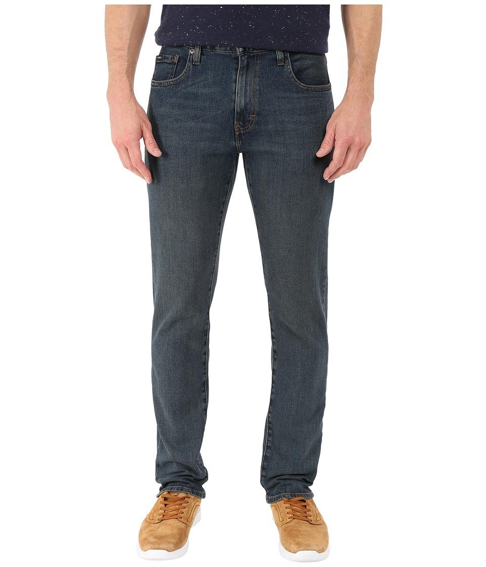 RVCA Daggers Denim in Mid Blue Mid Blue Mens Jeans