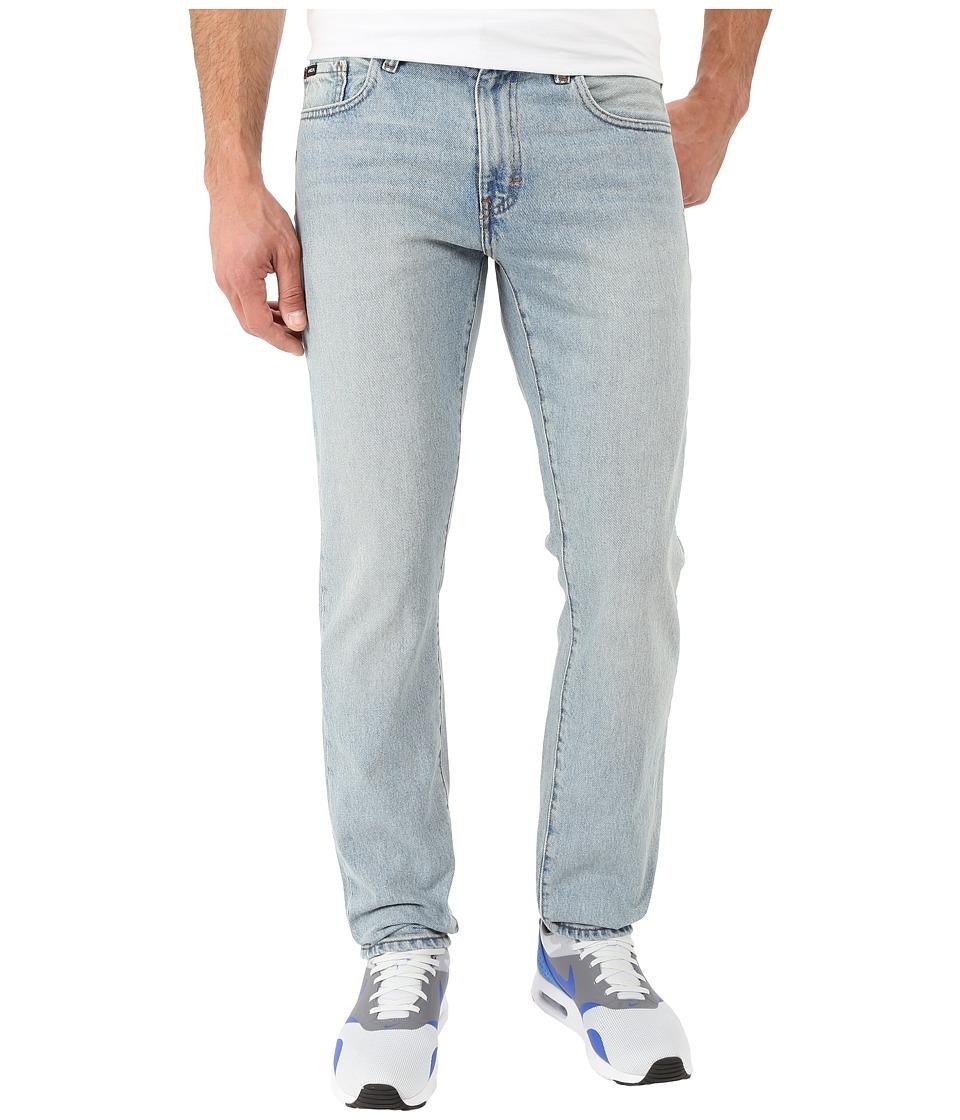 RVCA Daggers Denim in Vintage Bleach Vintage Bleach Mens Jeans