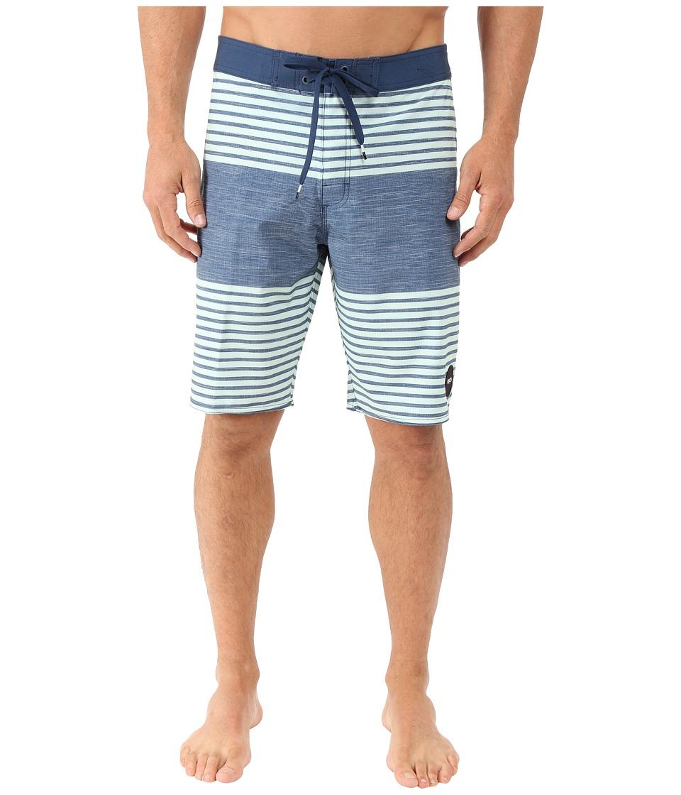 RVCA Sinister Boardshorts Dark Denim Mens Swimwear