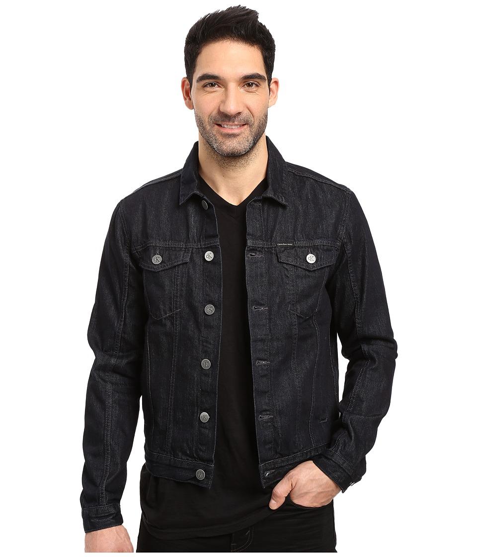 Calvin Klein Jeans Rinse Wash Trucker Jacket (Rinse) Men