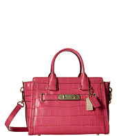 COACH - Embossed Croc Coach Swagger 27