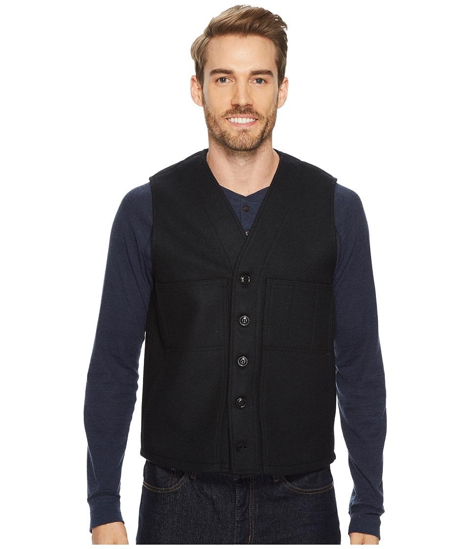Filson Mackinaw Wool Vest (Navy) Men's Vest
