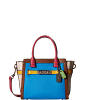 COACH - Rainbow Color Block Coach Swagger 21