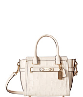 COACH - Embossed Croc Coach Swagger 20