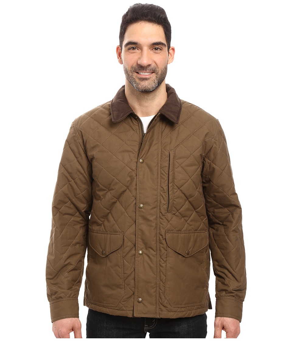 Filson Quilted Mile Marker (Marsh Olive) Men's Clothing