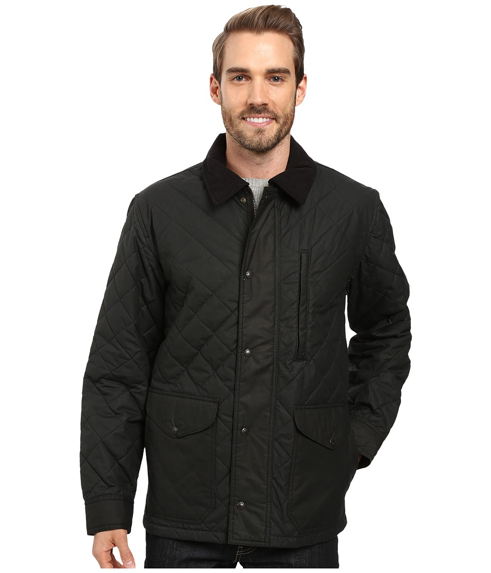 Filson Quilted Mile Marker (Navy/Grey) Men's Clothing