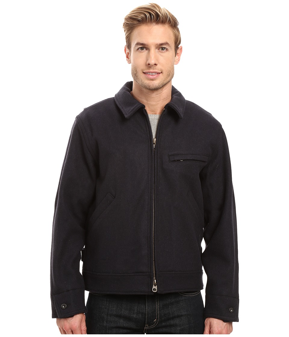 Filson Mackinaw Work Jacket (Navy) Men's Coat