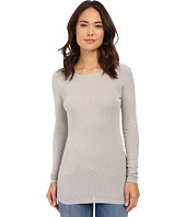 Michael Stars - Slub Long Sleeve Scoop Neck Tunic