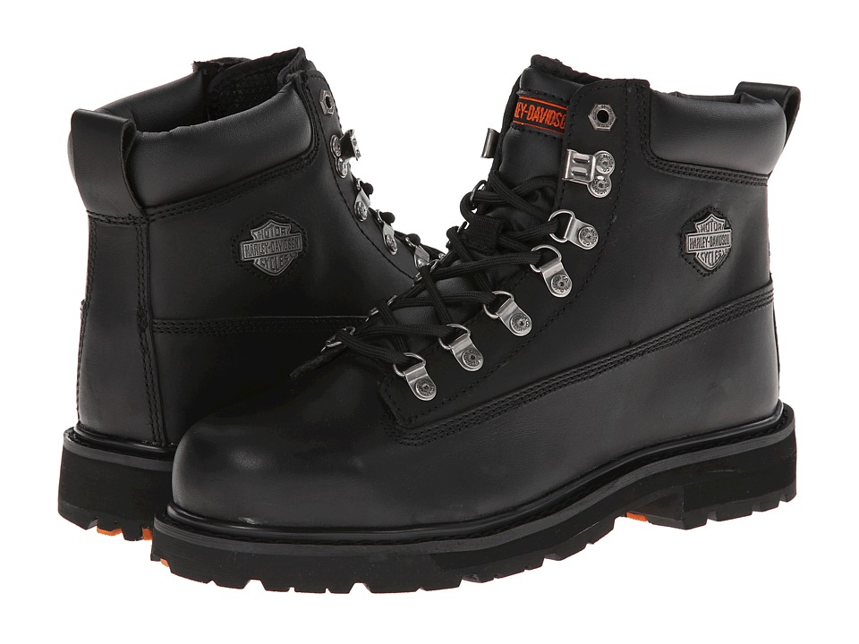 Harley Davidson Drive Steel Toe (Black) Men's Work Boots