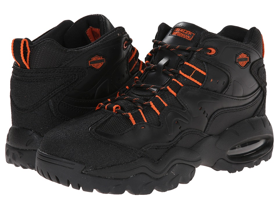 Harley-Davidson - Crossroads II Steel Toe (Black) Mens Industrial Shoes