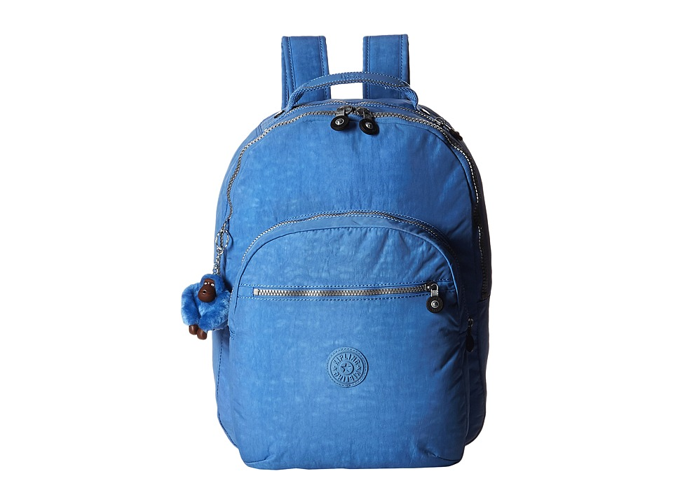 Kipling Seoul Backpack with Laptop Protection Blue Skies Backpack Bags