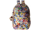 Kipling Seoul Print Backpack With Laptop Protection (Colorburst)