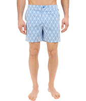 Original Penguin - Tile Print Fixed Swim Volley Fit