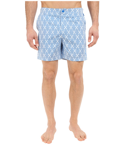 Original Penguin Tile Print Fixed Swim Volley Fit