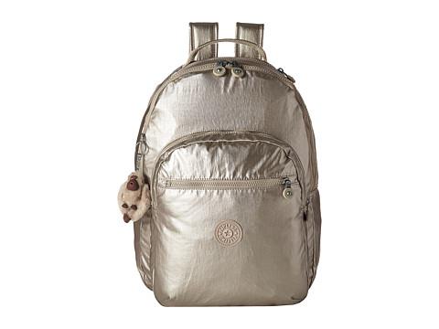 Kipling Seoul Metallic Backpack With Laptop Protection