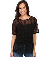 Roper - 0504 Embroidered Knit Top