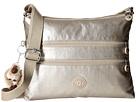 Kipling Alvar Crossbody Bag (Gleaming Gold Metallic)