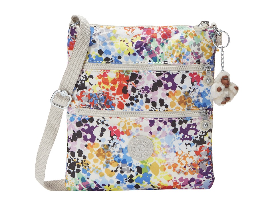 Kipling Keiko Crossbody Printed Colorburst Cross Body Handbags