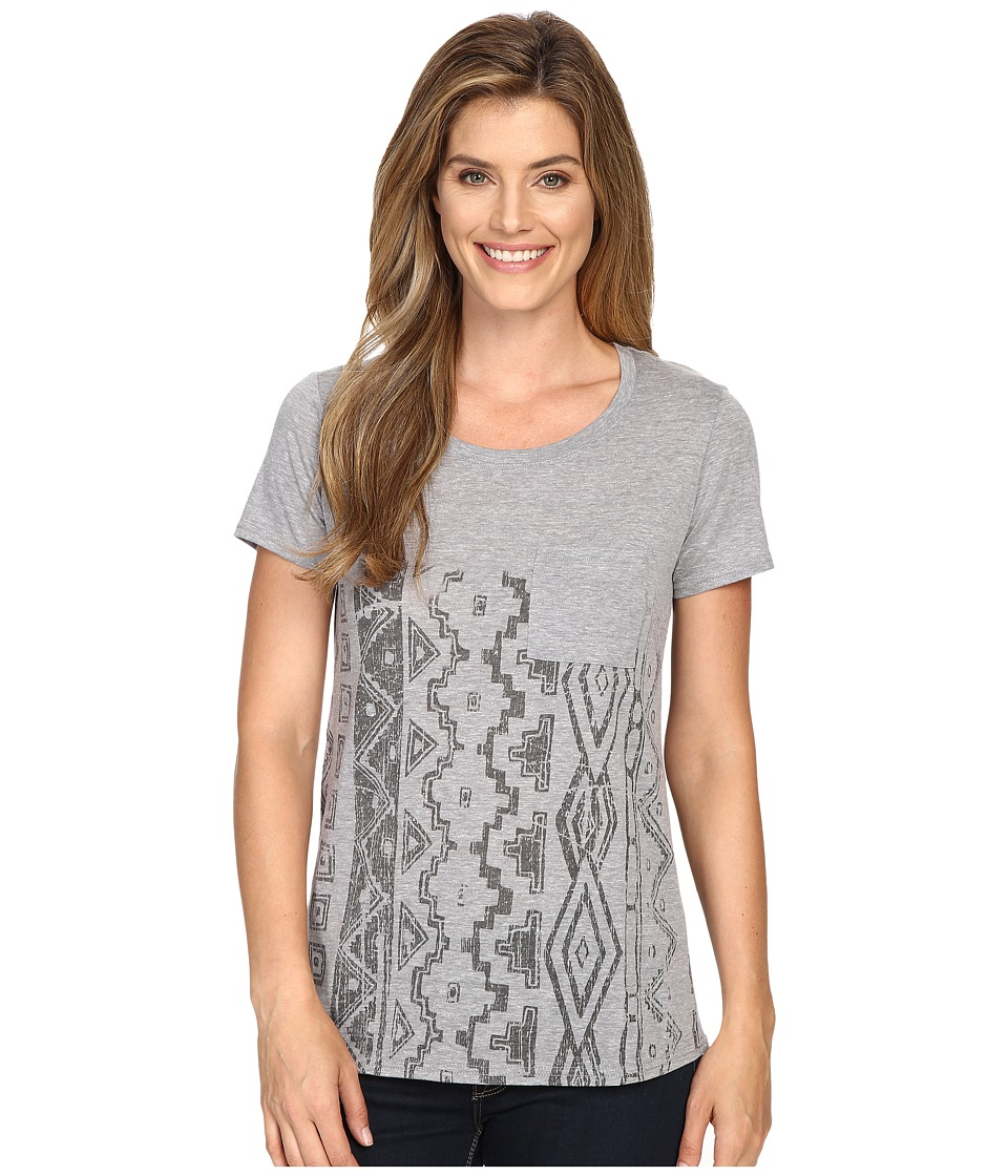 Roper - 0428 Heather Jersey Boyfriend Tee (Grey) Women