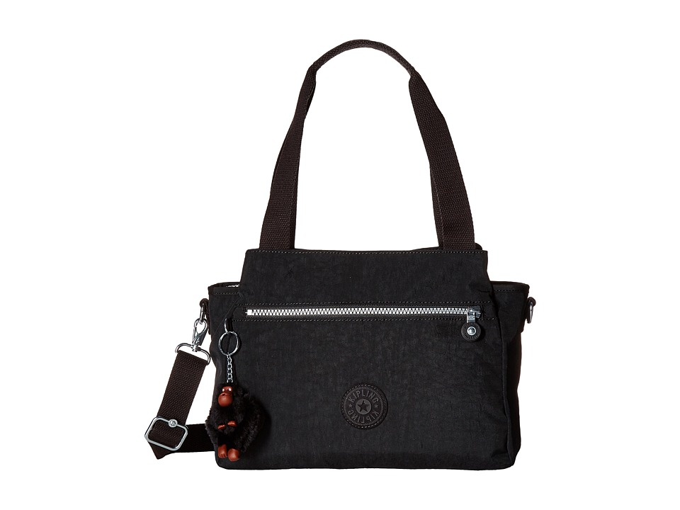 Kipling - Elysia Satchel (Black) Satchel Handbags