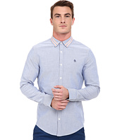 Original Penguin - Long Sleeve Brushed Oxford w/ Athletic Tape Detail