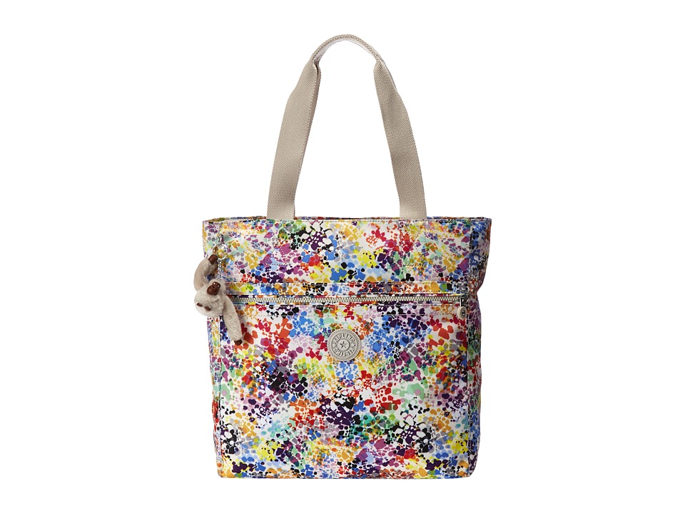 Kipling Brienne Tote Printed Colorburst Tote Handbags