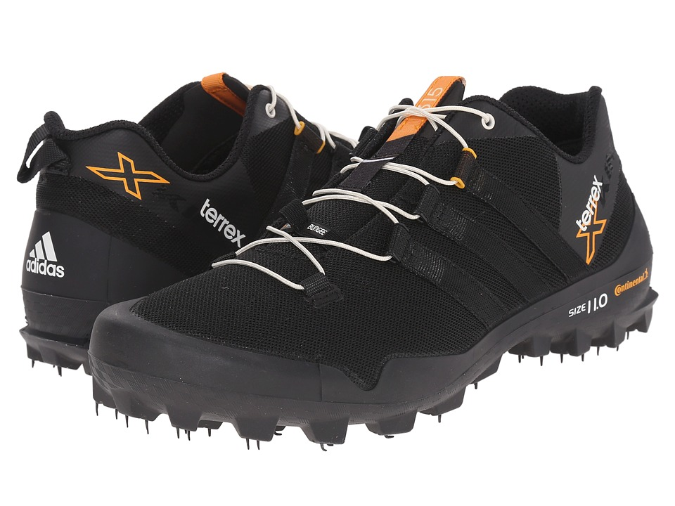 adidas Outdoor - Terrex X-King (Black/Chalk White/Dark Grey) Men