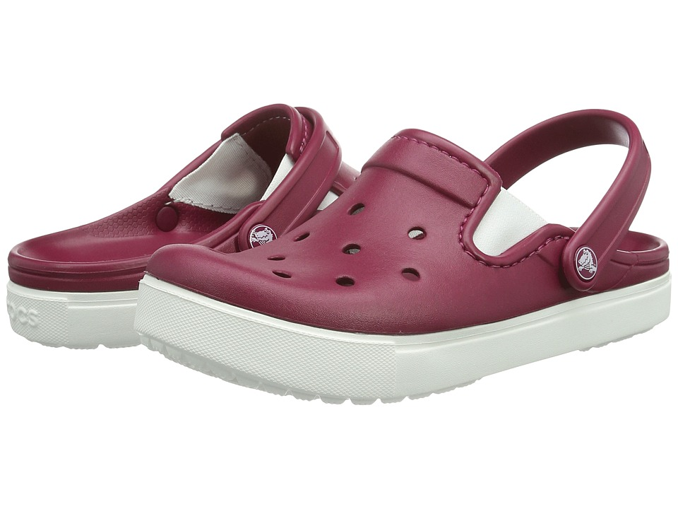 Crocs - CitiLane Clog (Pomegranate/White) Clog Shoes