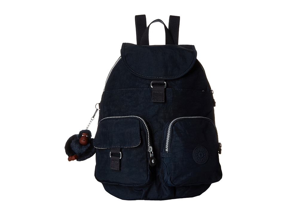 Kipling - Firefly Backpack (True Blue) Backpack Bags