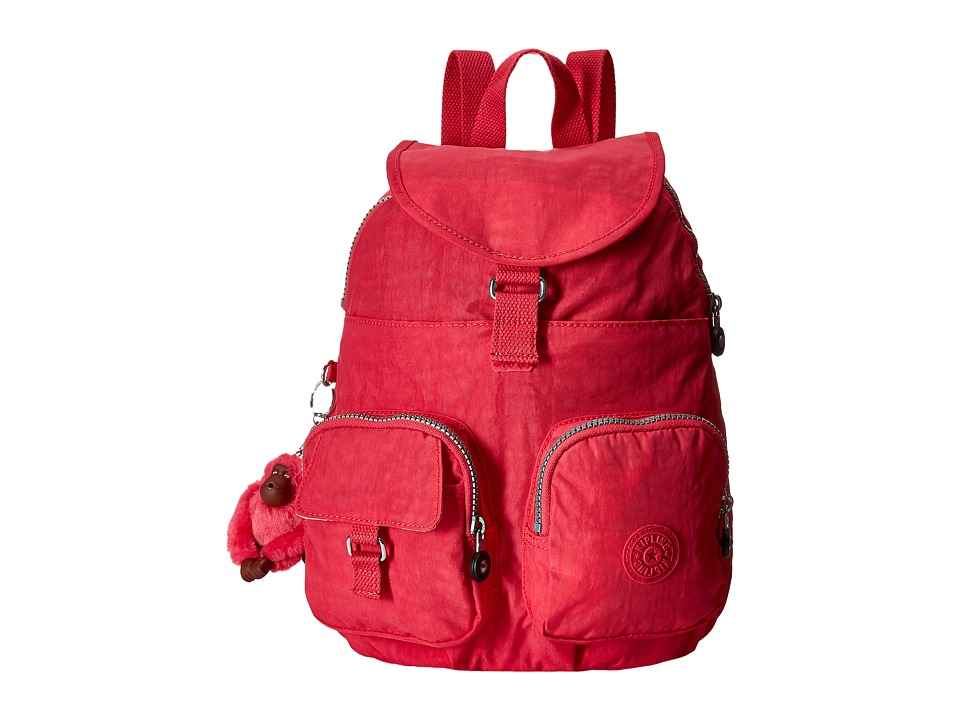 Kipling - Firefly Backpack (Vibrant Pink 1) Backpack Bags
