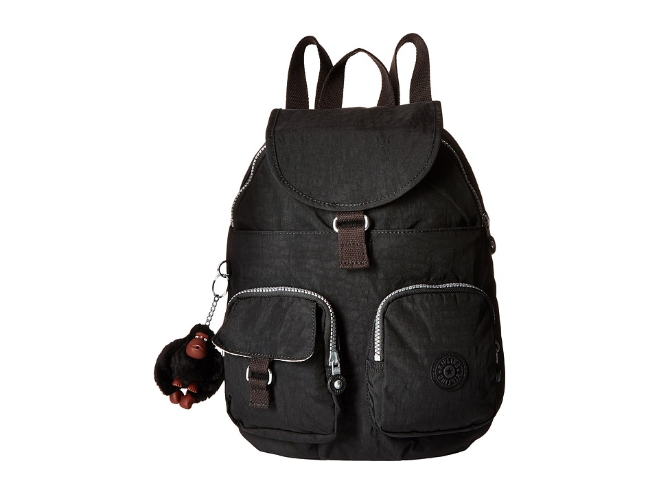 Kipling - Firefly Backpack (Black 1) Backpack Bags