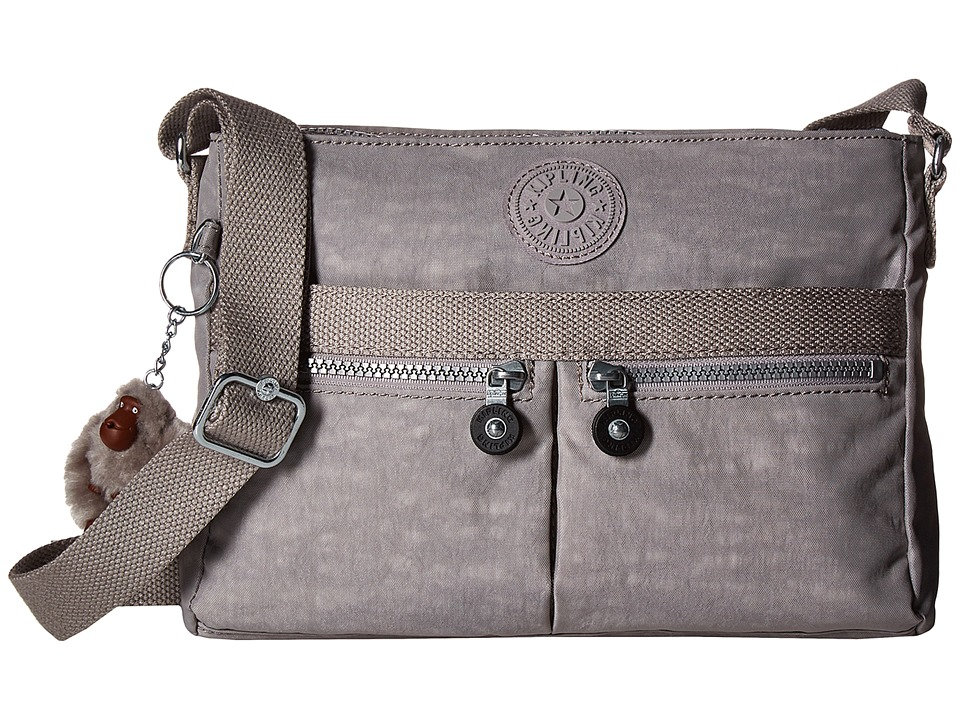 Kipling - Angie (Slate Grey) Handbags