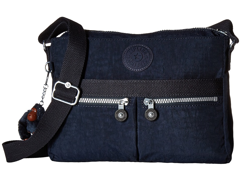 Kipling Angie True Blue Handbags