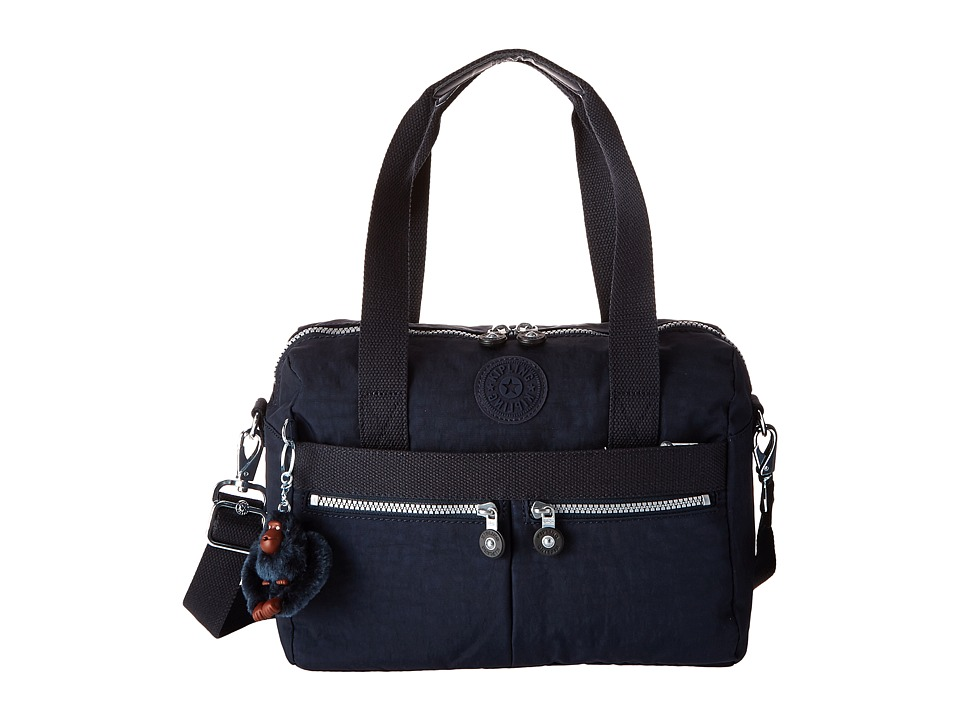 Kipling Klara True Blue Handbags
