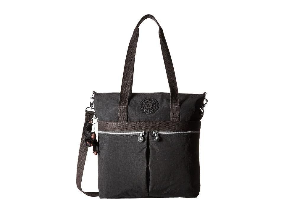 Kipling Pammie Tote Black Tote Handbags